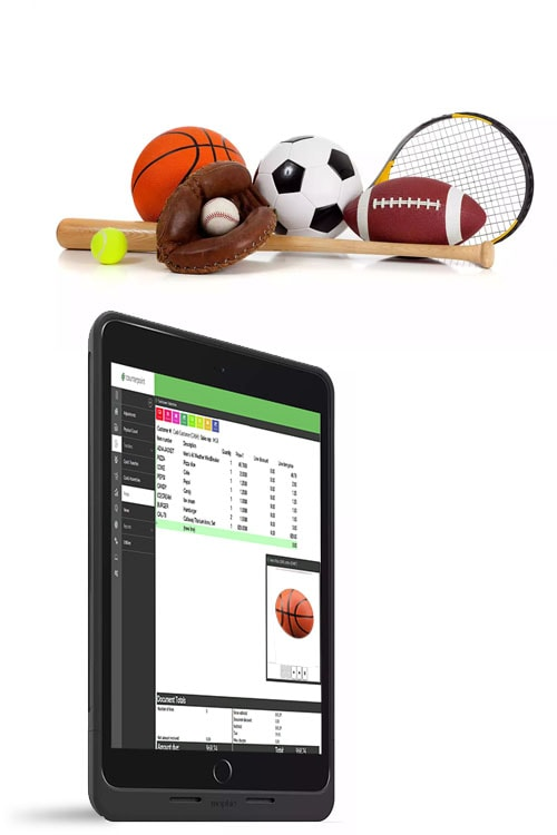 sporting goods POS system, Sporting Goods Store POS System